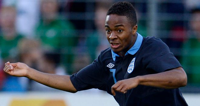 Raheem Sterling: Could make his England debut against Sweden in November