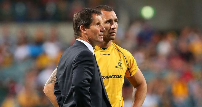 Deans and Cooper: trouble in the Wallaby camp