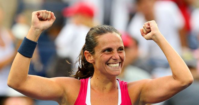 Roberta Vinci: Produced huge shock to progress to quarter-finals of US Open