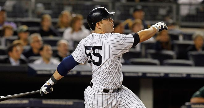 Russell Martin: Homered in the 10th to give the Yankees a 2-1 victory