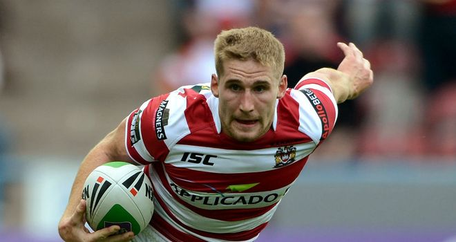Sam Tomkins: determined to make up for a disappointing 2012 in the new Super League campaign