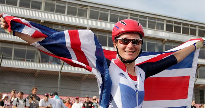 Sarah Storey: Four golds at London 2012 to take Paralympic haul to 11