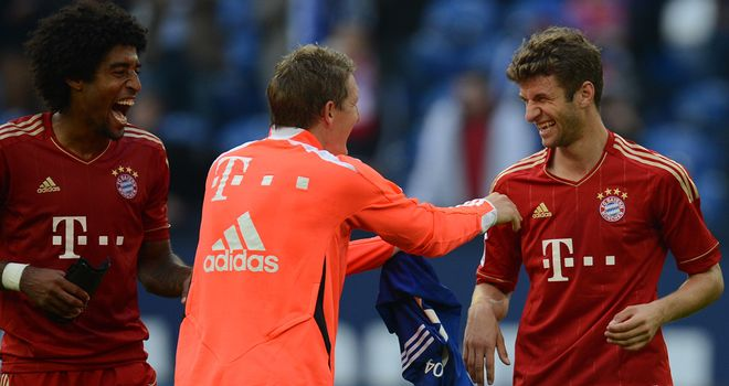 Muller is all smiles after his two-goal salvo