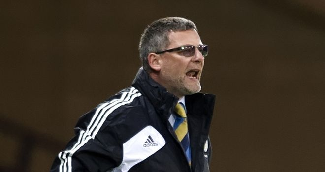 Craig Levein: Scotland coach has come under pressure following two successive draws