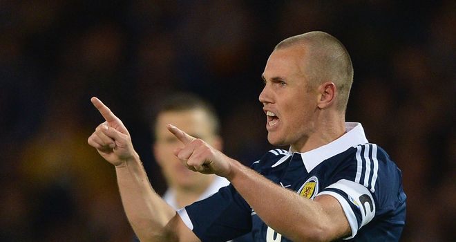 Kenny Miller: Says Scotland's players have let down Craig Levein after taking just two points from three World Cup qualifiers