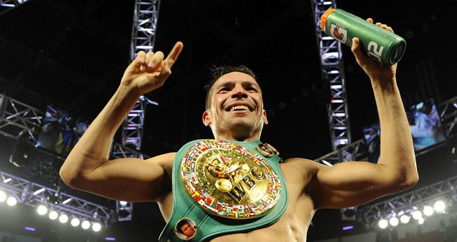 Sergio Martinez: An April date has been set aside for his return