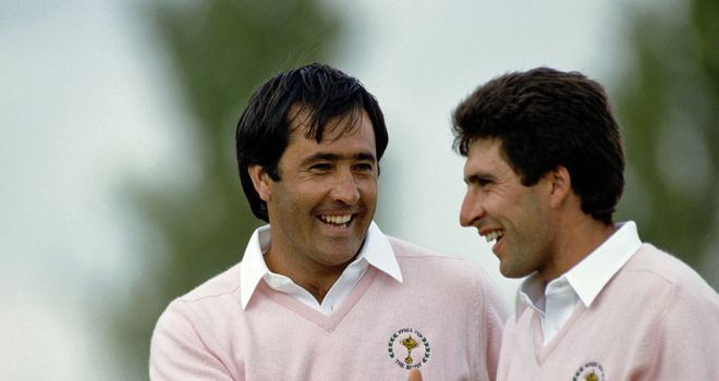 Ballesteros and Olazabal: The greatest Ryder Cup pairing?