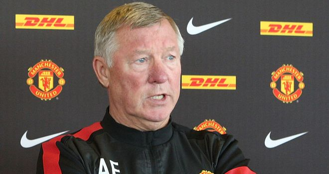 Sir Alex Ferguson: Focussed on Champions League