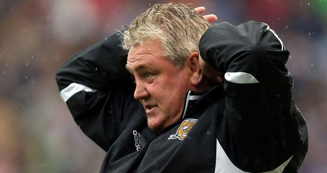 Steve Bruce: Not a happy day at the office for Hull City boss