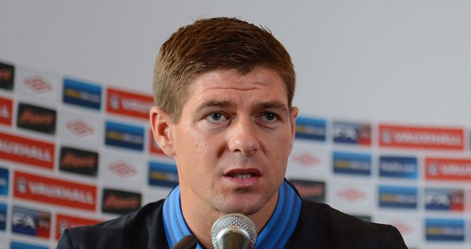 Steven Gerrard: Revealed the England players have been handed a new code of conduct