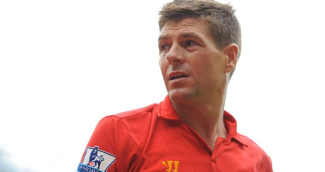 Steven Gerrard: Wants Liverpool to beat United and then push on up the Premier League table