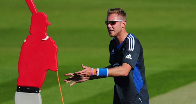 Stuart Broad: In confident mood ahead of title defence