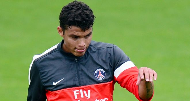 Thiago Silva: Not happy with Joey Barton