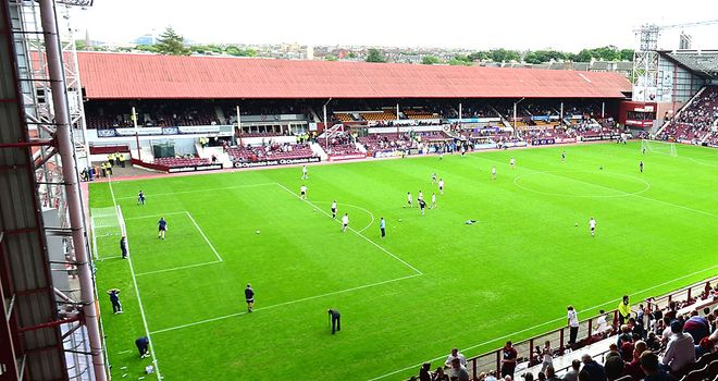 Tynecastle: The SPL club are understood to be negotiating a payment plan