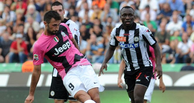 Mirko Vucinic: On target in Juventus romp