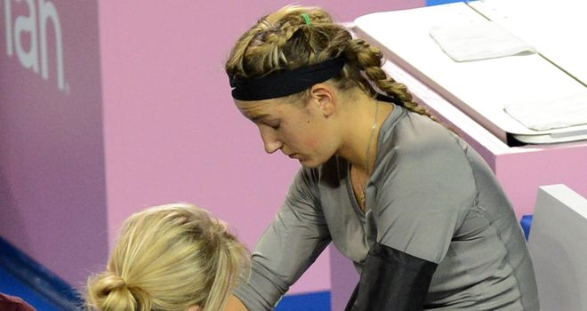 Victoria Azarenka 2012 2834781 - Maria Sharapova and Victoria Azarenka Crashed out of Pan Pacific