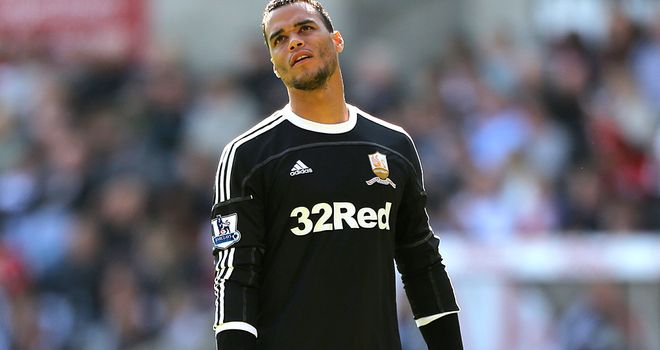 Michel Vorm: Back in training following groin injury