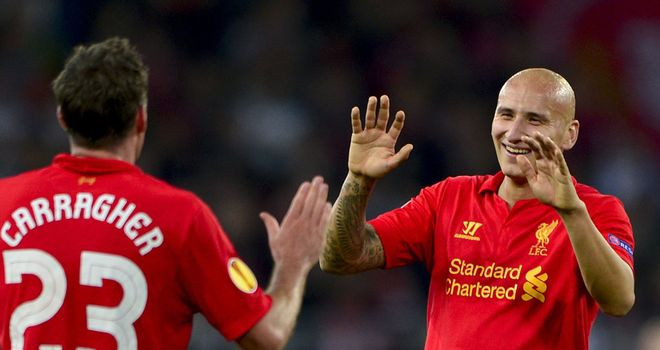 Jonjo Shelvey: Hoping his two goals against Young Boys will have impressed Brendan Rodgers
