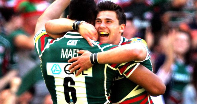 Ben Youngs: Nearing return to action for Leicester