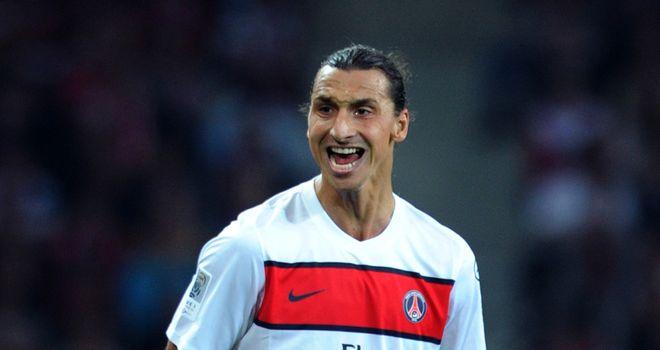 Ibrahimovic: Scored two goals for PSG