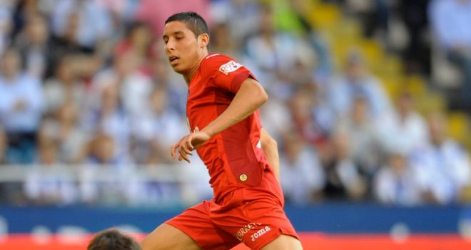 Abdel Barrada: Impressive displays for Getafe are thought to have attracted bigger clubs