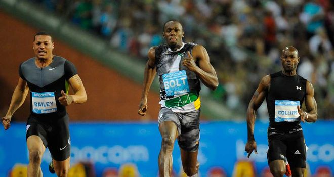 Usain Bolt: Has not run in Britain in 2009 with exception of Olympics