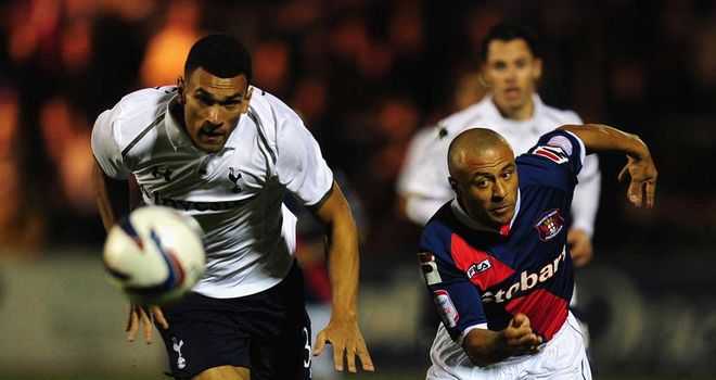 Caulker (l): Battles with Cadamarteri at Brunton Park