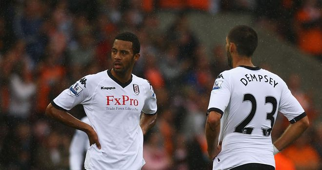 Moussa Dembele: Has a good understanding with Clint Dempsey from their Fulham days