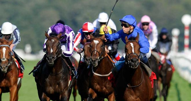 Ursa Major: Kept on gamely in the St Leger