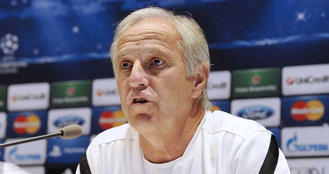 Rene Girard: Wants fans to generate a hostile atmosphere against Arsenal