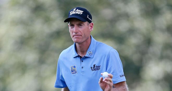 Jim Furyk: Holds a one-shot lead after round of 64