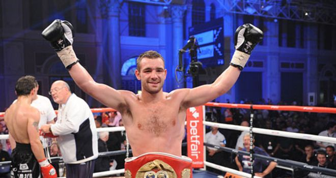 Lee Purdy: Setting his sights on a world title shot (pic by leighdawneyphotography.com)