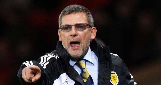 Craig Levein: Set to name his squad for World Cup qualifiers this week
