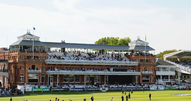 The sun was out at Lord's for the final match of the summer