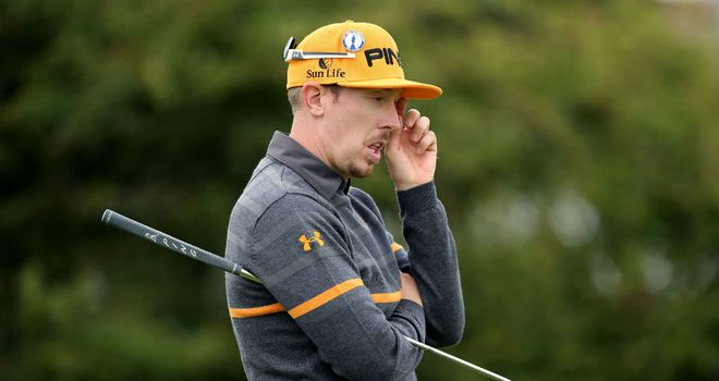 Hunter Mahan: Deflated after missing out on a place in America's Ryder Cup team