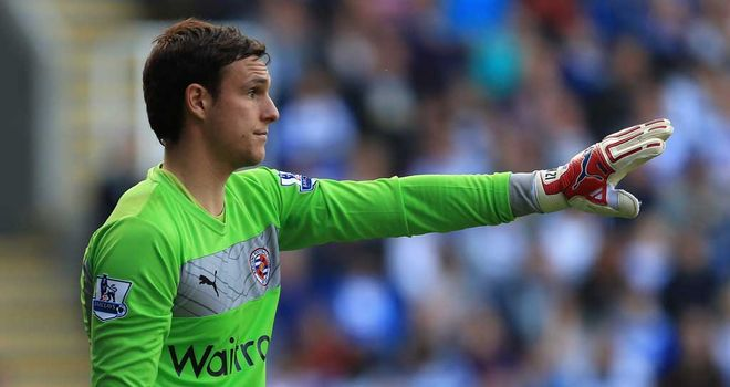 Alex McCarthy: Looking to make the most of his time in the Reading first team