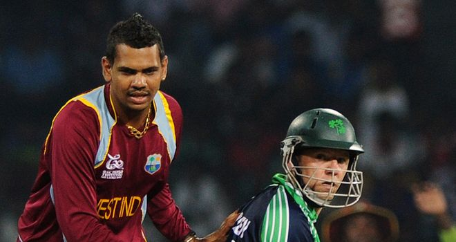 Sunil Narine: West Indies spinner claimed 1-21 from four overs against Ireland