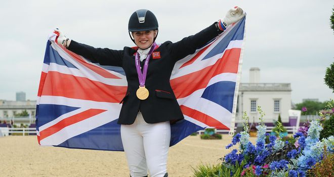 Natasha Baker: built superbly on her success at last year's European Championships