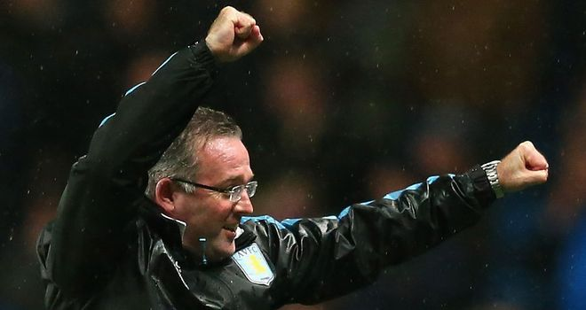 Paul Lambert: The Villa manager will want to build on the cup win at Manchester City