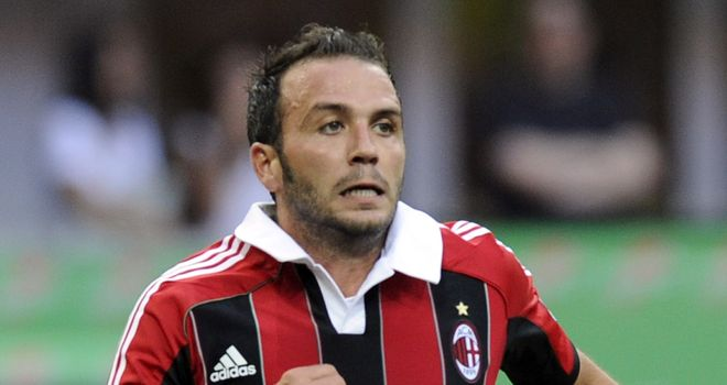 Giampaolo Pazzini: Hat-trick for Milan