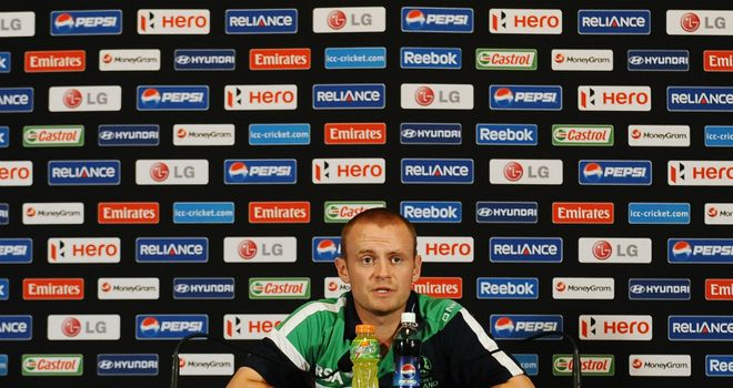 William Porterfield: Ireland captain is wary of threat posed by West Indies' batting line-up