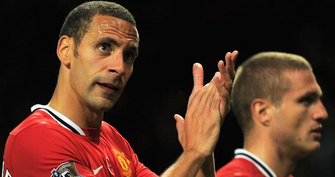 Rio Ferdinand and Nemanja Vidic: Will not be risked in every match by Ferguson