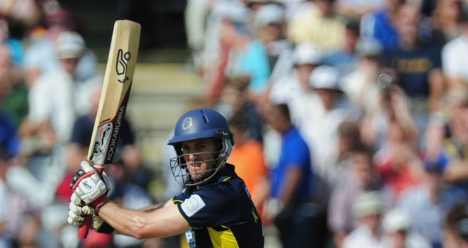 Simon Katich: swapping Hampshire for Perth in the CLT20