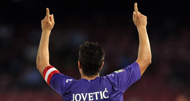 Future points to a Manchester City move for Fiorentina forward Stevan Jovetic