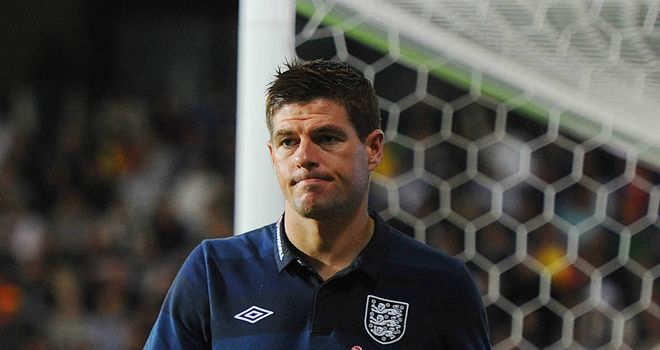 Steven Gerrard: England captain will be fit to face Ukraine after being replaced at half-time against Moldova