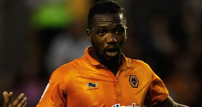 Doumbia: Scored Wolves' second goal