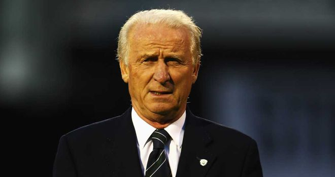 Giovanni Trapattoni: Looking forward to taking on Germany on Friday