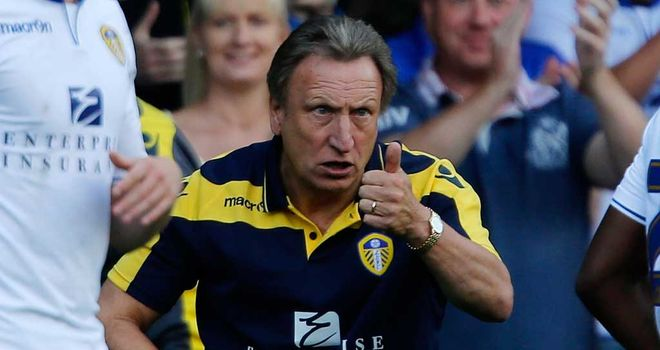Neil Warnock: Leeds United manager is enjoying his week after the win at Bristol City