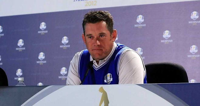 Lee Westwood: unimpressed by the Medinah course
