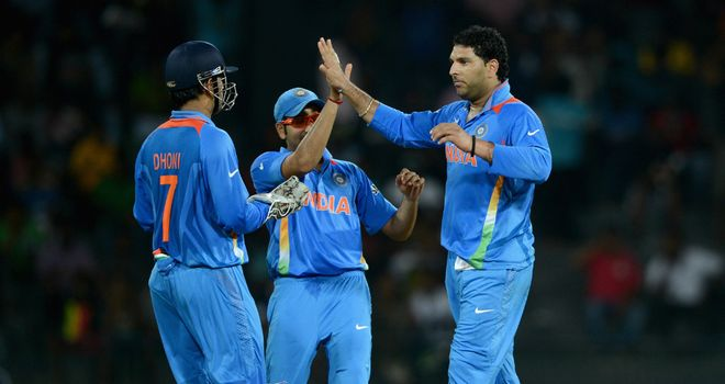 Yuvraj Singh: Wickets and runs for India in Pune